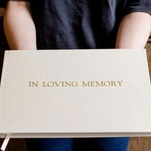 "NEW ""In Loving Memory"" Guestbook"